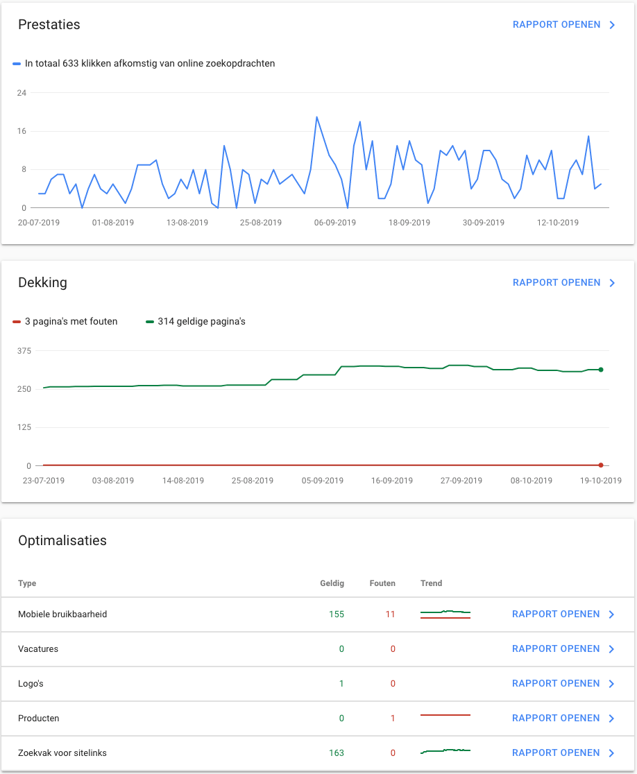 Consigo Search Console