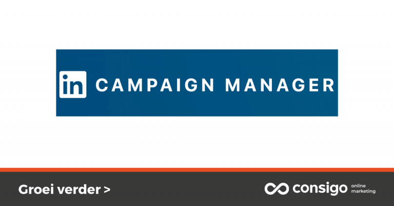Aanmaken LinkedIn Campaign Manager account