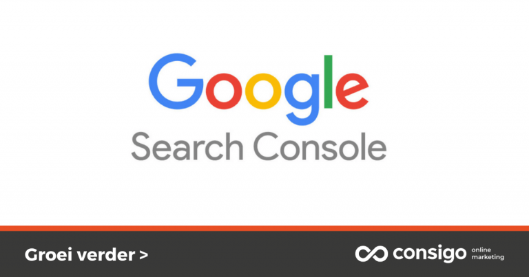 Aanmaken search console account