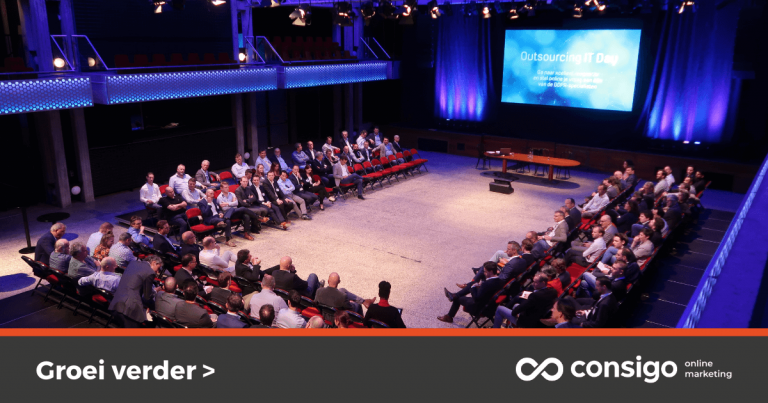 Volle zaal Outsource IT 2019